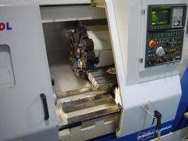 Puma 230 MS-spindle turning center with driven in 5-7 axes